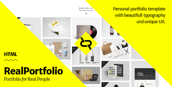 download nulled realportfolio personal portfolio template free. Black Bedroom Furniture Sets. Home Design Ideas