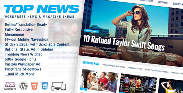 Download Nulled Top News Free v2.03 - Freethemes.space