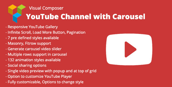 Download Nulled Visual Composer YouTube Channel with Carousel Free