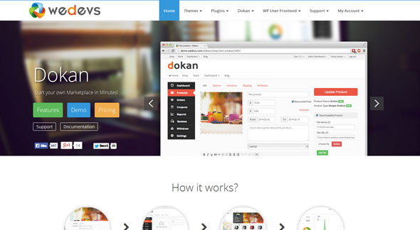 Download Nulled Dokan Free v2.2.3 - Freethemes.space