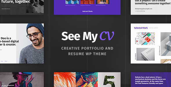 Download Nulled See My CV Free v103 Freethemesspace