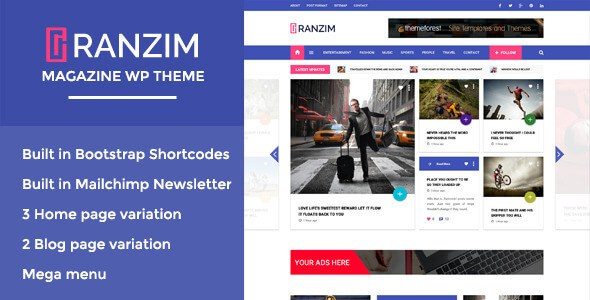 Download Nulled Ranzim Free v1.0 - Freethemes.space