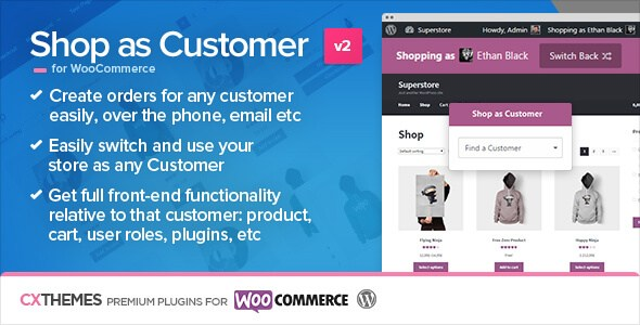 Download Nulled Shop as Customer for WooCommerce Free v2 09
