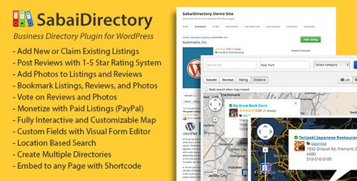 Download Nulled Sabai Directory Free v1 3 46 - Freethemes space