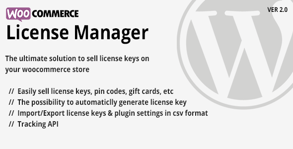 Download Nulled WooCommerce License Manager Free v2 4 - Freethemes space