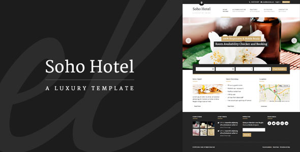 Download Nulled Soho Hotel Free v2.1.2 - Freethemes.space